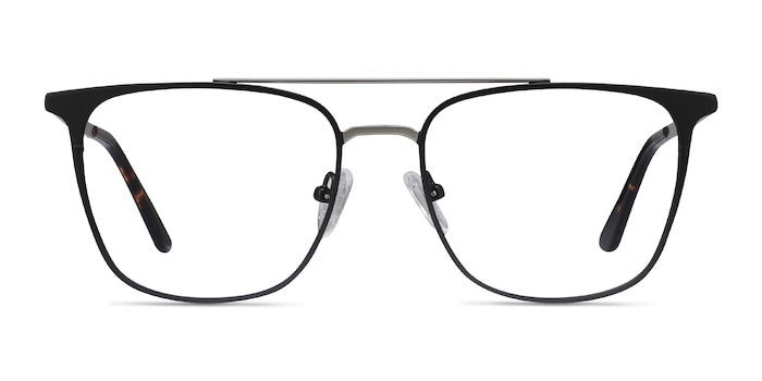 Contact Black Metal Eyeglass Frames from EyeBuyDirect
