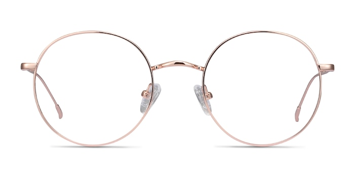 Dapper Rose Gold Metal Eyeglass Frames from EyeBuyDirect