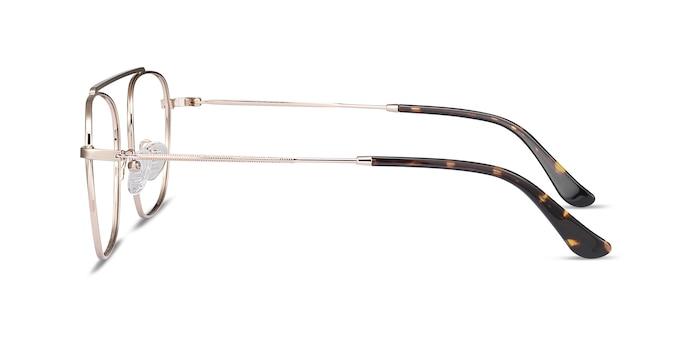Moxie Rose Gold Metal Eyeglass Frames from EyeBuyDirect