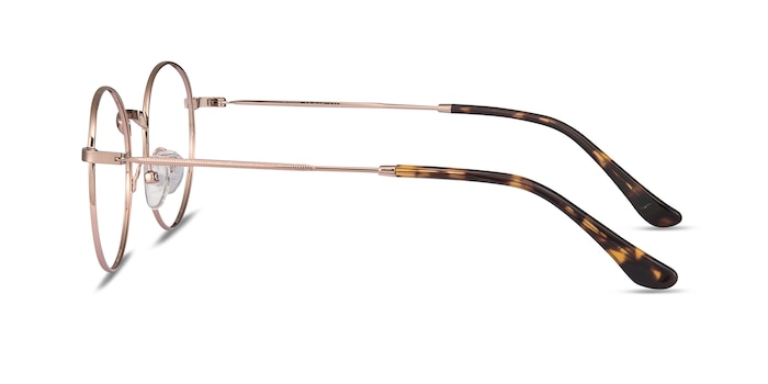 Bistro Rose Gold Metal Eyeglass Frames from EyeBuyDirect