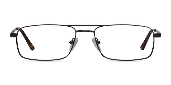 Maverick Black Metal Eyeglass Frames from EyeBuyDirect