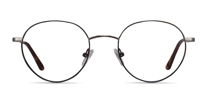 Retell Black Metal Eyeglass Frames from EyeBuyDirect
