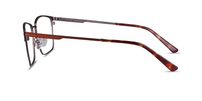 Castle Coffee Metal Eyeglass Frames from EyeBuyDirect