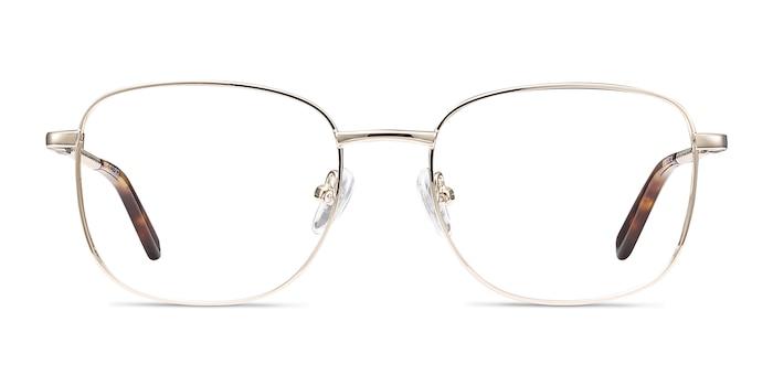 Aspect Golden Metal Eyeglass Frames from EyeBuyDirect
