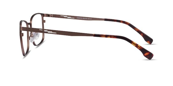 Dakota Brown Metal Eyeglass Frames from EyeBuyDirect