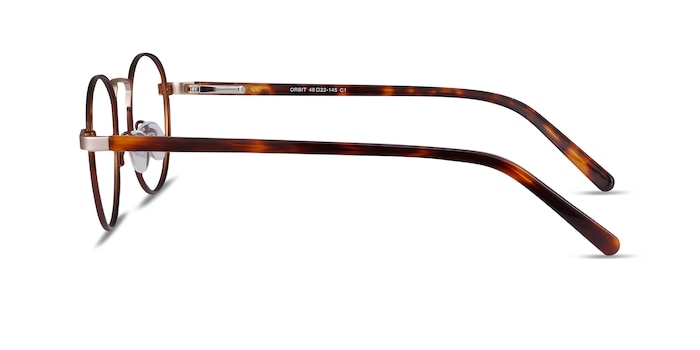 Orbit Brown Acetate-metal Eyeglass Frames from EyeBuyDirect