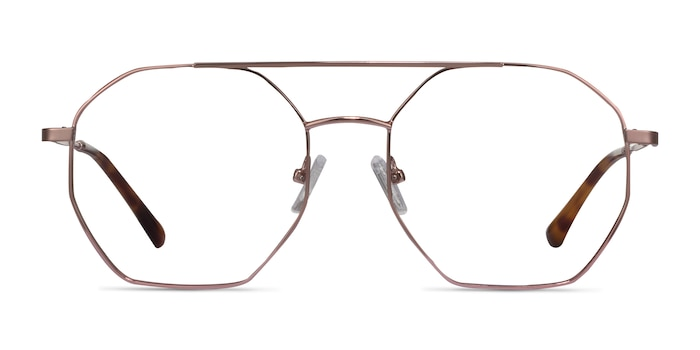 Eight Rose Gold Métal Montures de Lunette de vue d'EyeBuyDirect