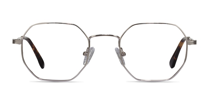 Soar Silver Metal Eyeglass Frames from EyeBuyDirect