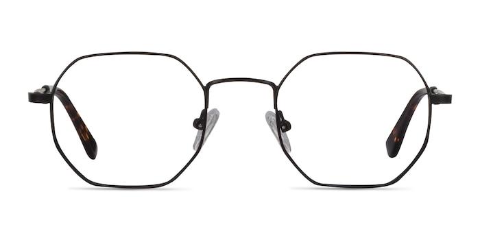 Soar Black Metal Eyeglass Frames from EyeBuyDirect
