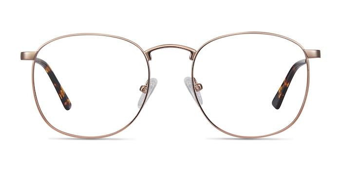 St Michel Rose Gold Metal Eyeglass Frames from EyeBuyDirect
