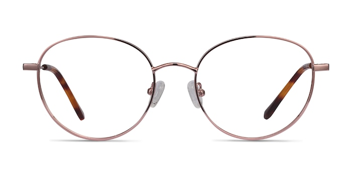Twirl Rose Gold Metal Eyeglass Frames from EyeBuyDirect