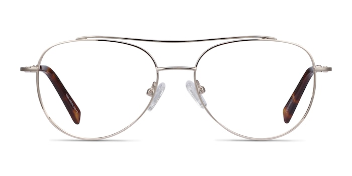 Max Gold Metal Eyeglass Frames from EyeBuyDirect