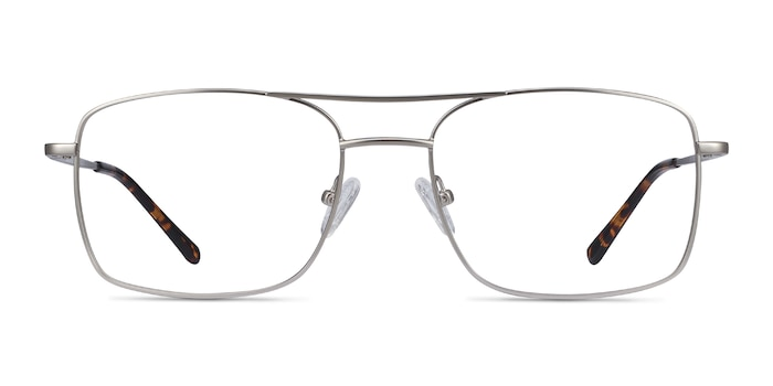 Daymo Silver Metal Eyeglass Frames from EyeBuyDirect