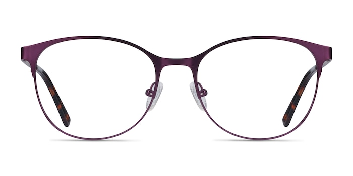 Kali Purple Metal Eyeglass Frames from EyeBuyDirect