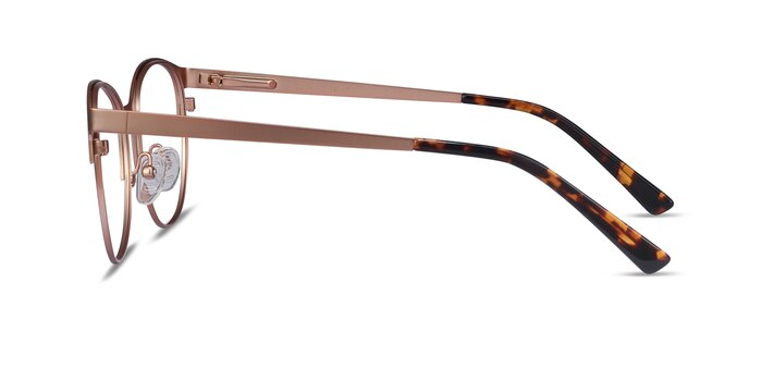 Kali Rose Gold Metal Eyeglass Frames from EyeBuyDirect