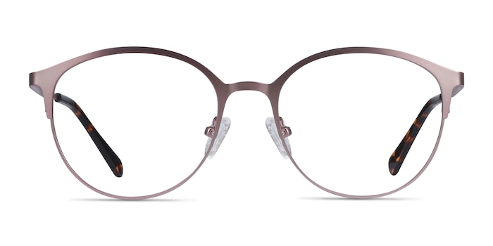 Emma Pink Metal Eyeglass Frames from EyeBuyDirect