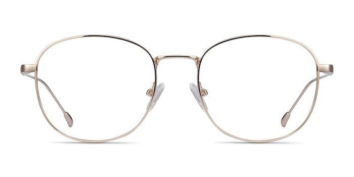 Vantage Gold Metal Eyeglass Frames from EyeBuyDirect