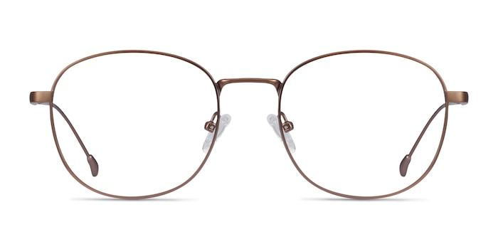 Vantage Matte Pink Metal Eyeglass Frames from EyeBuyDirect