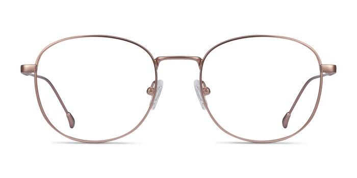 Vantage Rose Gold Metal Eyeglass Frames from EyeBuyDirect