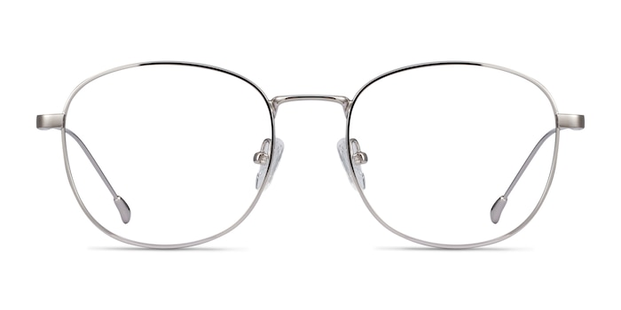 Vantage Silver Metal Eyeglass Frames from EyeBuyDirect