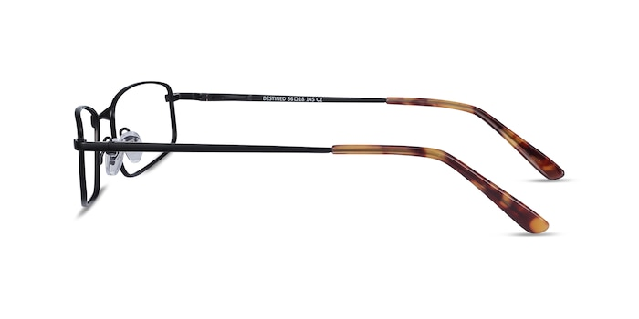 Destined Black Metal Eyeglass Frames from EyeBuyDirect