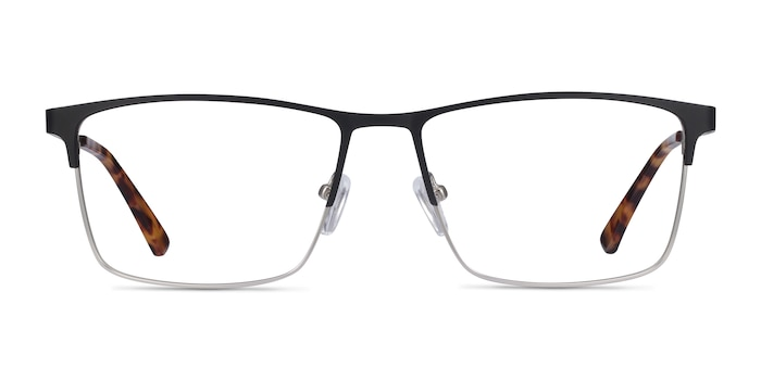 Edito Black Metal Eyeglass Frames from EyeBuyDirect