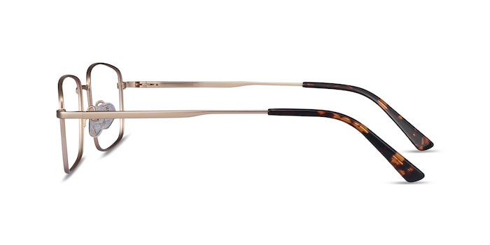 Onex Gold Metal Eyeglass Frames from EyeBuyDirect