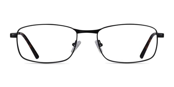 Madon Black Metal Eyeglass Frames from EyeBuyDirect