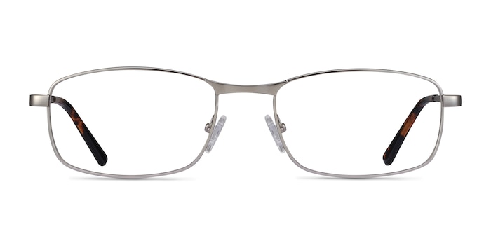 Madon Silver Metal Eyeglass Frames from EyeBuyDirect