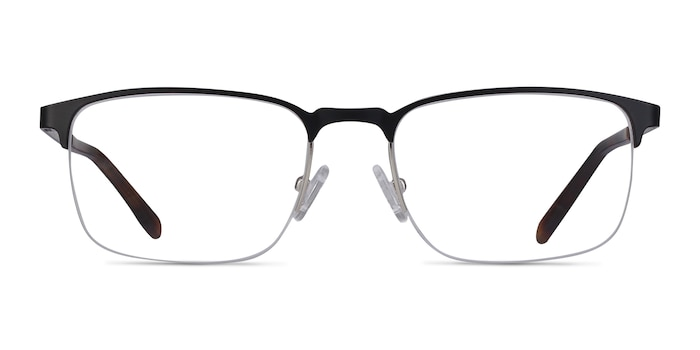 Valery Black Metal Eyeglass Frames from EyeBuyDirect