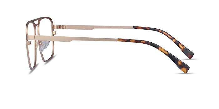 Gallo Gold Metal Eyeglass Frames from EyeBuyDirect