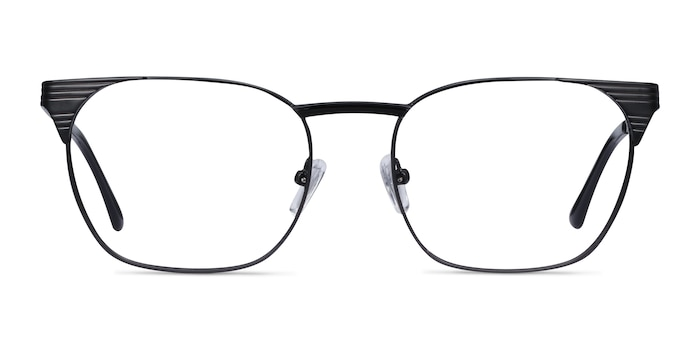 Soulist Black Metal Eyeglass Frames from EyeBuyDirect