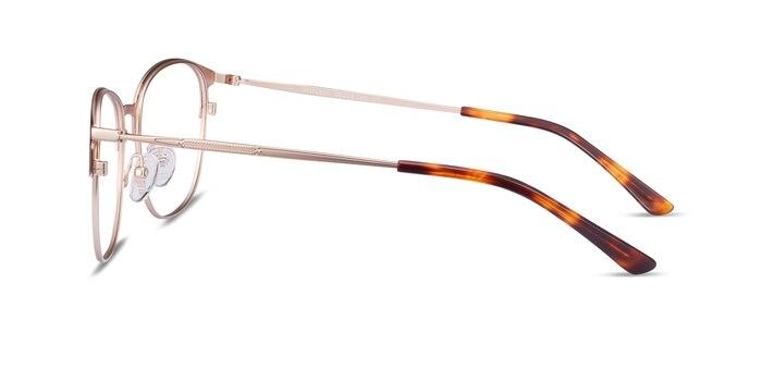 Disperse Red Metal Eyeglass Frames from EyeBuyDirect