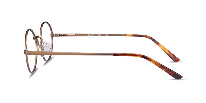 Equinox Bronze Metal Eyeglass Frames from EyeBuyDirect