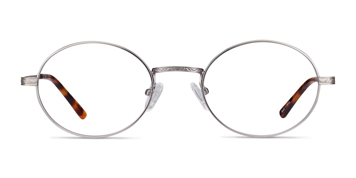 Equinox Gunmetal Metal Eyeglass Frames from EyeBuyDirect