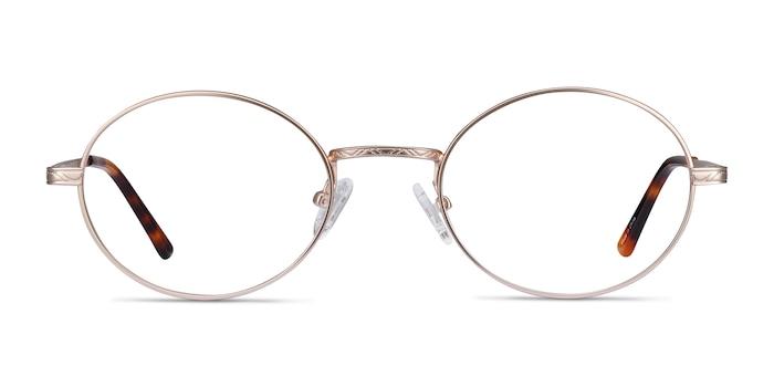 Equinox Gold Metal Eyeglass Frames from EyeBuyDirect