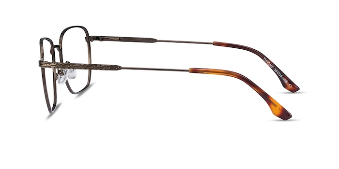Throne Bronze Metal Eyeglass Frames from EyeBuyDirect