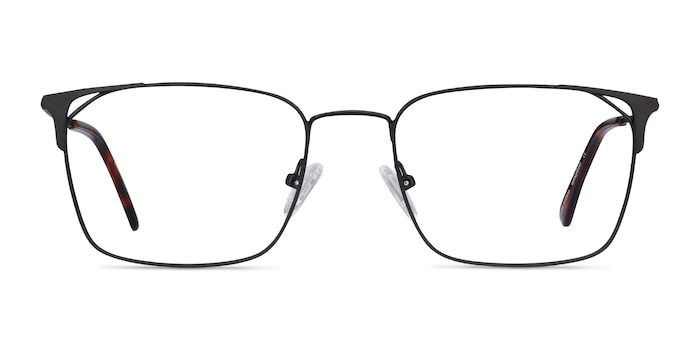 Emett Black Metal Eyeglass Frames from EyeBuyDirect