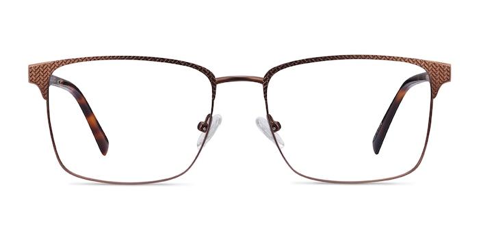 Capra Bronze Acetate-metal Eyeglass Frames from EyeBuyDirect