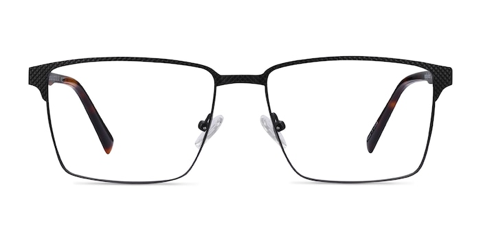 Douglas Black Metal Eyeglass Frames from EyeBuyDirect