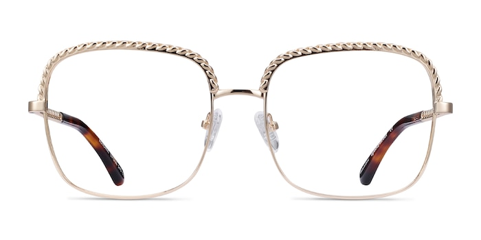 Astoria Gold Metal Eyeglass Frames from EyeBuyDirect