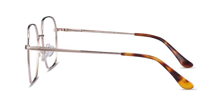 Roman Doré Métal Montures de Lunette de vue d'EyeBuyDirect