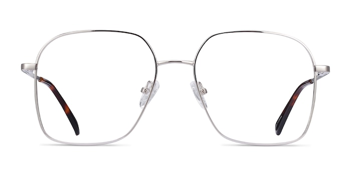 Roman Silver Metal Eyeglass Frames from EyeBuyDirect