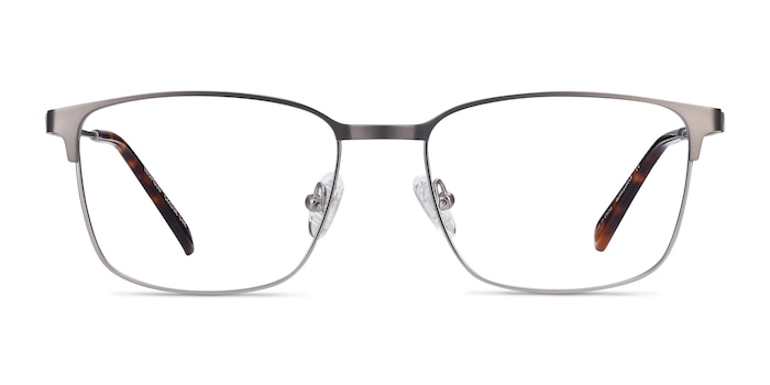 Leopold Gunmetal Metal Eyeglass Frames from EyeBuyDirect