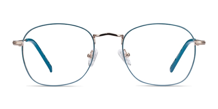 Keith Green & Gold Metal Eyeglass Frames from EyeBuyDirect