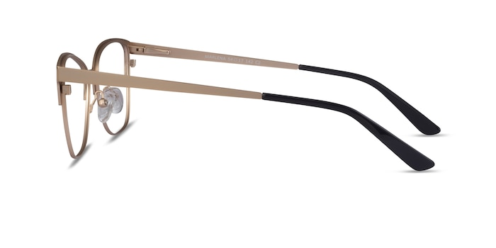 Marlena Black Gold Metal Eyeglass Frames from EyeBuyDirect