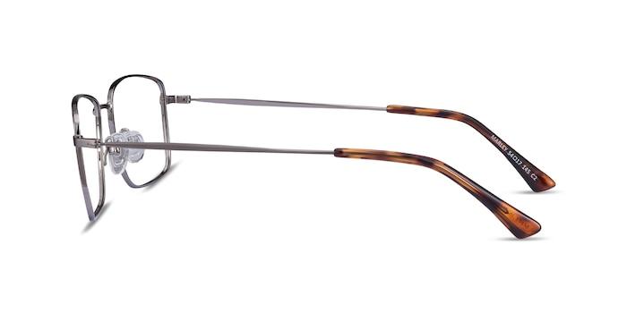 Marley Gunmetal Metal Eyeglass Frames from EyeBuyDirect