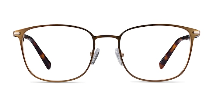 River Bronze & Gold Acetate-metal Eyeglass Frames from EyeBuyDirect