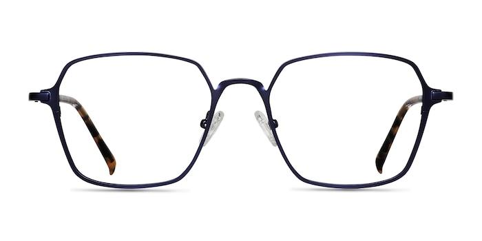 Holden Blue Metal Eyeglass Frames from EyeBuyDirect
