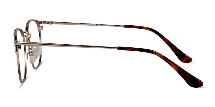 Codex Black Gold Metal Eyeglass Frames from EyeBuyDirect